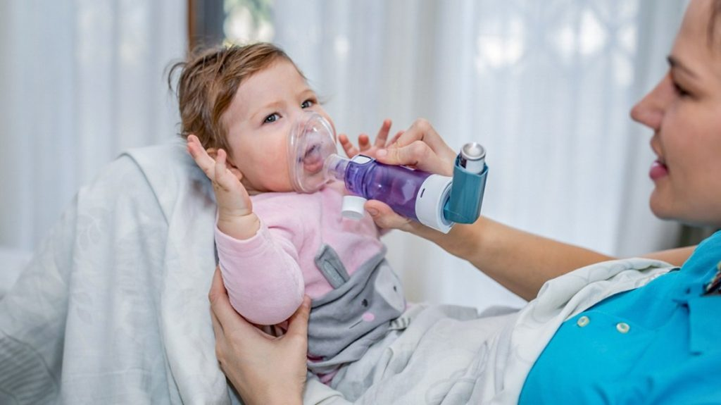 приступ бронхиальной астмы у ребенка