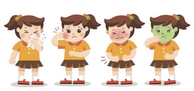 симптомы заболевания у ребенка